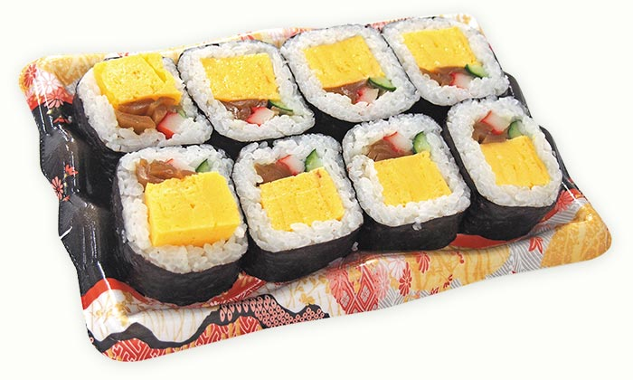 びっくり玉子巻き寿司